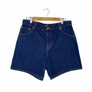 Levi's Relaxed 550 Denim Shorts Sz 14